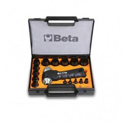 BETA Assortimento 15 Fustelle D3-30mm + 1 Accessorio