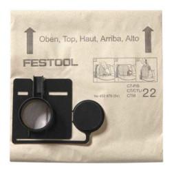 FESTOOL Sacchetto Filtro FIS-CT 33 5pz | 452971