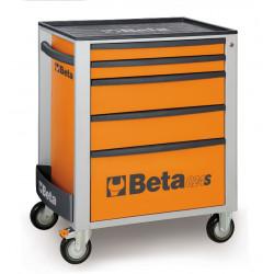 BETA Cassettiera Mobile con 5 Cassetti C24S/5