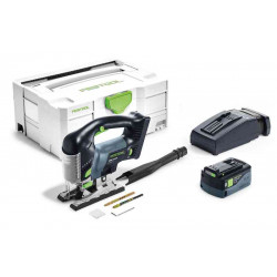 FESTOOL Seghetto Alternativo a Batteria PSBC 420 Li 5,2 EBI-Plus CARVEX