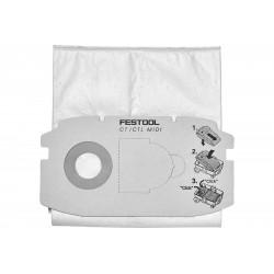 FESTOOL Sacchetto Filtro SELFCLEAN SC FIS-CT MIDI 5pz   498411