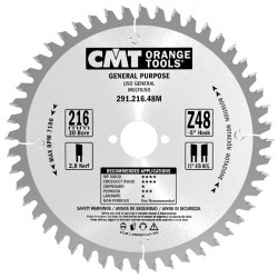 CMT Lama per Taglio Lungo e Traverso Vena 140x2,4/1,4x20