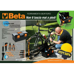 BETA Assortimento 28 Utensili Bike Home | 021150098